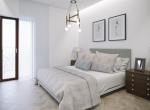 camera da letto 1 vista